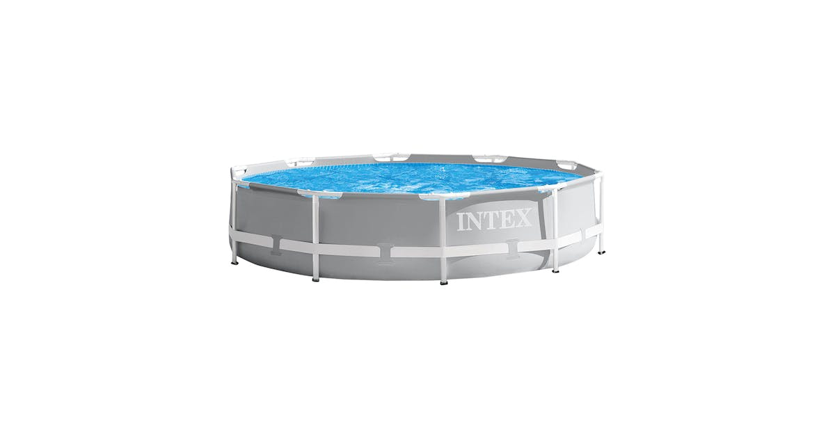 Intex 10 Foot X 30 Inch Above Ground Prism Swimming Pool