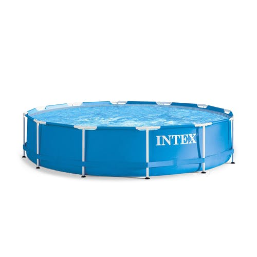 Intex Metal Frame 12-Foot x 30-Inch Above-Ground Swim Pool 28210EH ...