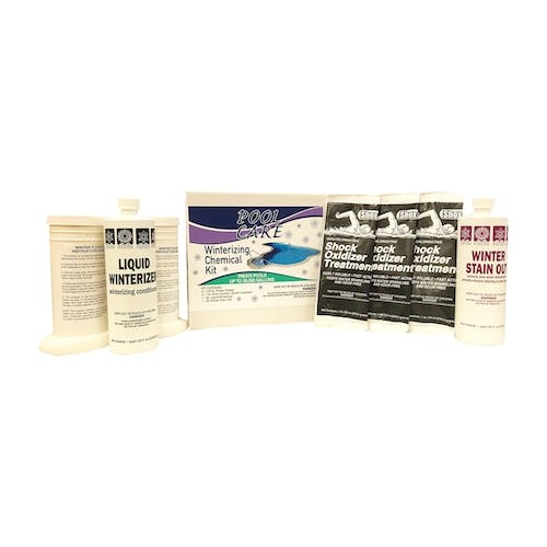 Pool Winterizing Kit for Pools up to 30,000 Gallons