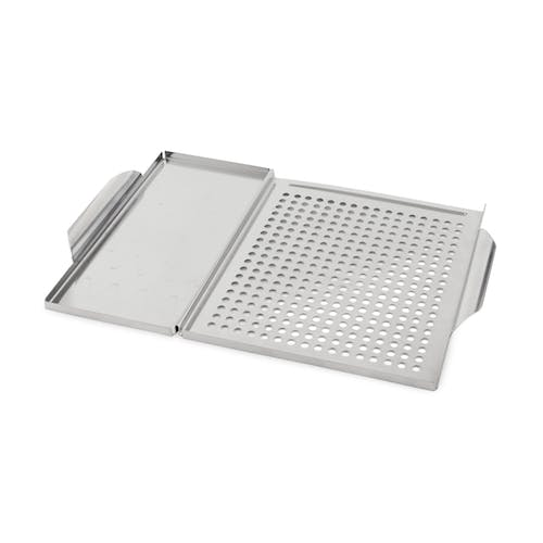 Bull Outdoor Products Dual Stainless Steel Grilling Grid And