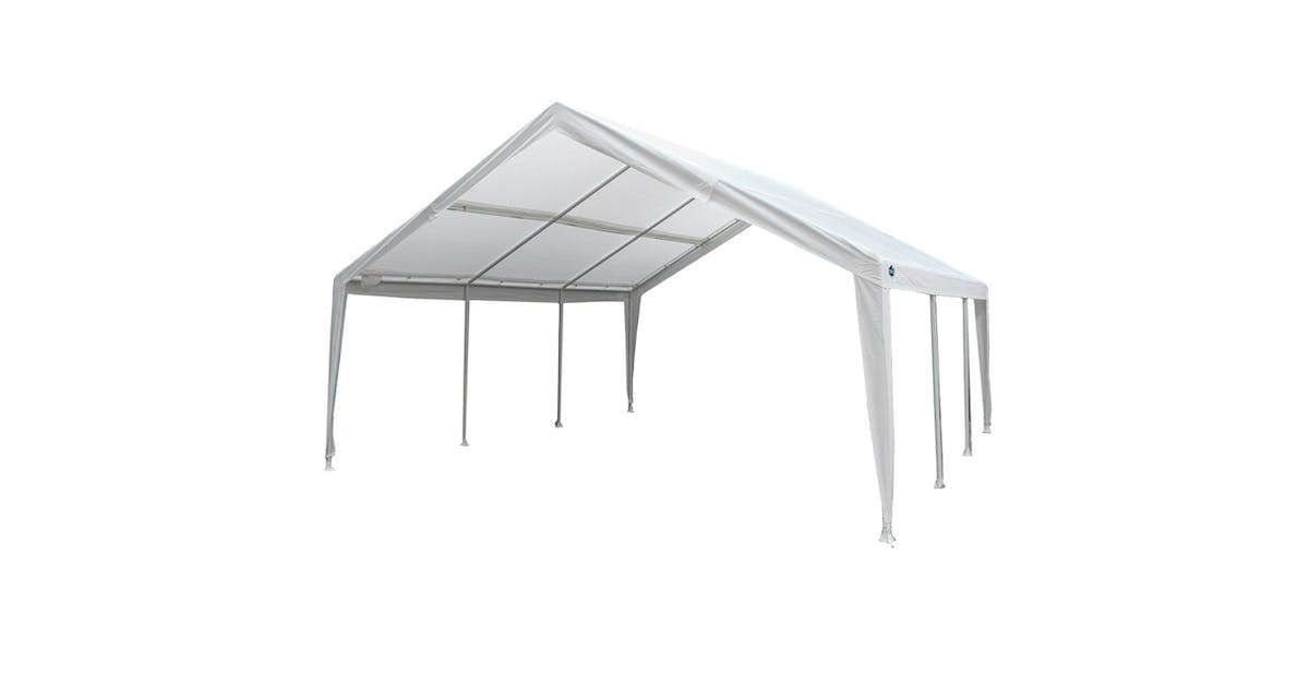 King Canopy 8-Leg Dual Size Expandable Canopy, 12 X 20