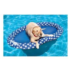 SwimWays Spring Float Paddle Paws Dog Pet Pool Float, Large 13700 ...