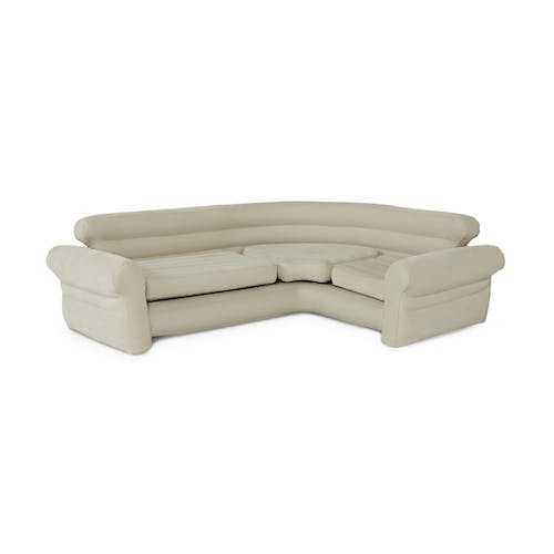 Brilliant Intex Inflatable Air Mattress Sectional Sofa Beige 68575Ep Onthecornerstone Fun Painted Chair Ideas Images Onthecornerstoneorg