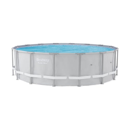 Bestway 16ft x 48in Steel Pro Above-Ground Swimming Pool ...