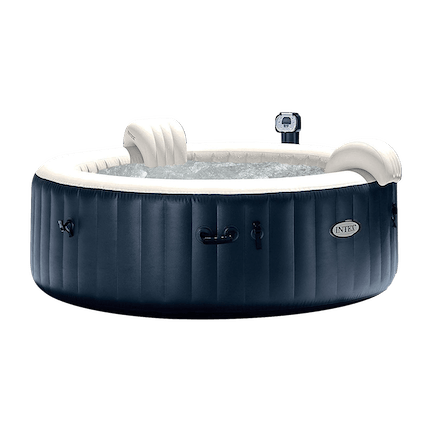 PureSpa Massage 6-Person Inflatable Hot Tub Spa Set