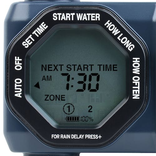 Melnor Digital 2 Zone Programmable Water Timer And