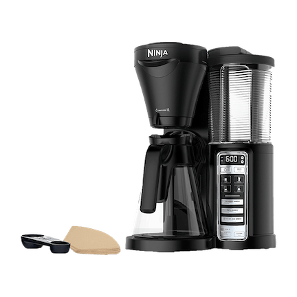 Coffee Bar 1-Touch Auto-iQ Automated Coffee Maker, Black